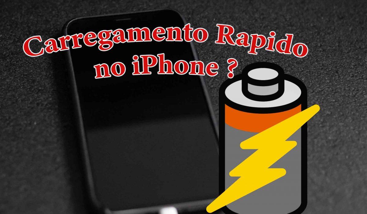 Carregamento Rapido iPhone